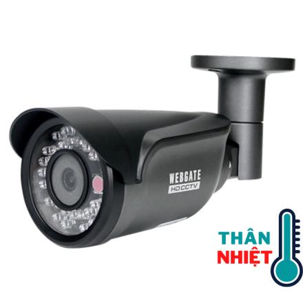Bộ camera thân nhiệt đo cùng lúc 10 người Thermal-T36.5-Coax