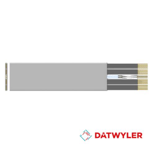 Dây cáp điện (dây Cordon) thang máy DATWYLER <BR> 24 ruột chống nhiễu