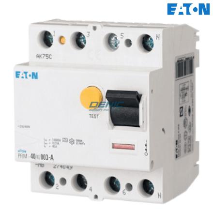 PFIM4, RCCB 3 pha 4P Eaton (30mA, 100mA, 300mA, 500mA)