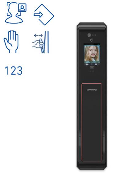 Khóa cửa mở bằng Khuôn mặt và lòng bàn tay BIO CDL-3PRBio