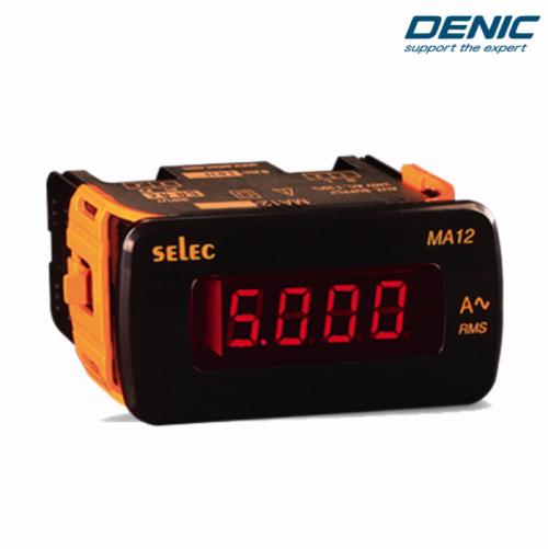 Đồng hồ đo ampe 1 chiều DC MA12-DC-2mA (48x96)