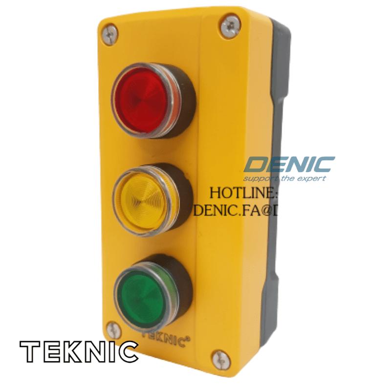 Hộp nút nhấn điều khiển 220V 3 màu