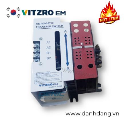 21HS 2P100, Bộ chuyển nguồn ATS 1 pha 100A