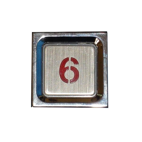 Nút nhấn thang máy hình vuông _3537A3737_led đỏ