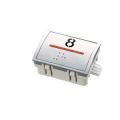 Nút nhấn thang máy hình chữ nhật_AT-1_led đỏ