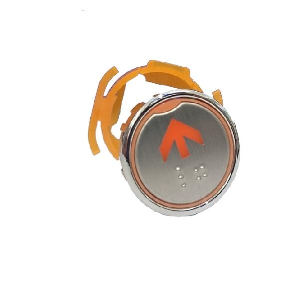 Nút nhấn thang máy hình tròn_CA35_led cam