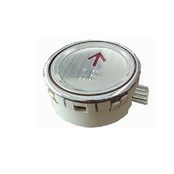 Nút nhấn thang máy hình tròn_STS-ROUND_led đỏ