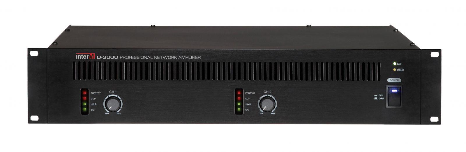 Amply điều khiển qua mạng- D-3000