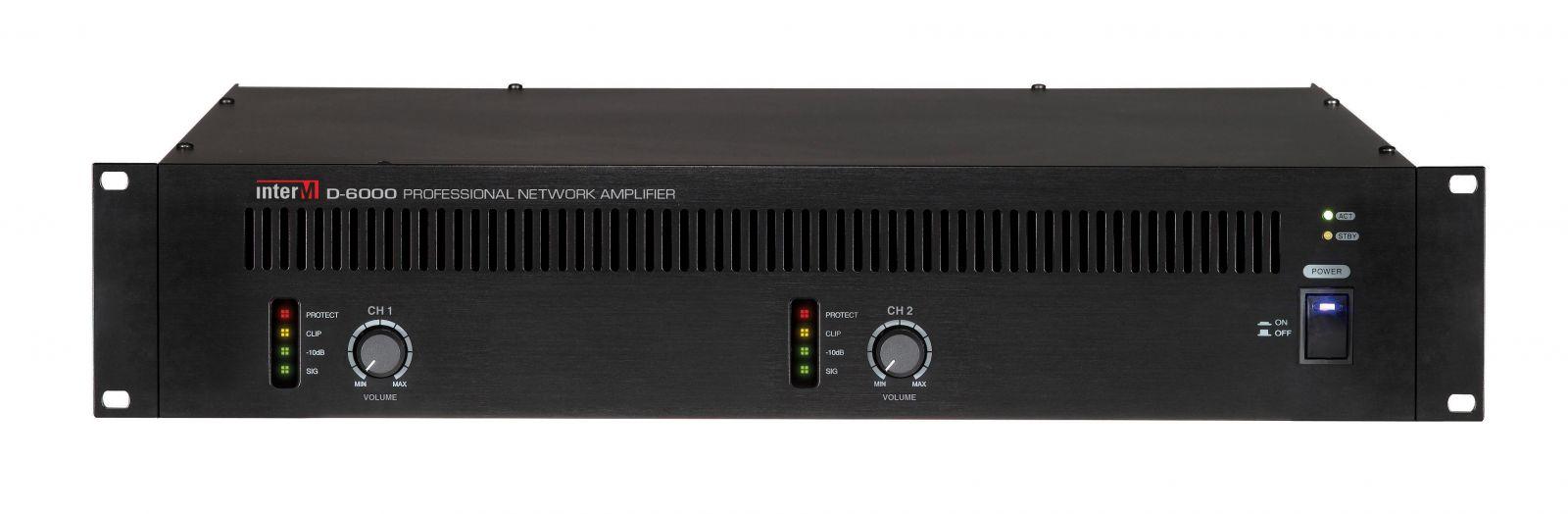 Amply điều khiển qua mạng- D-6000