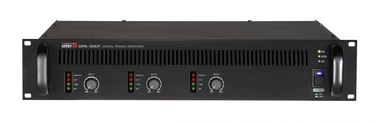 Amply 300Wx3CH Inter-M, DPA-300T