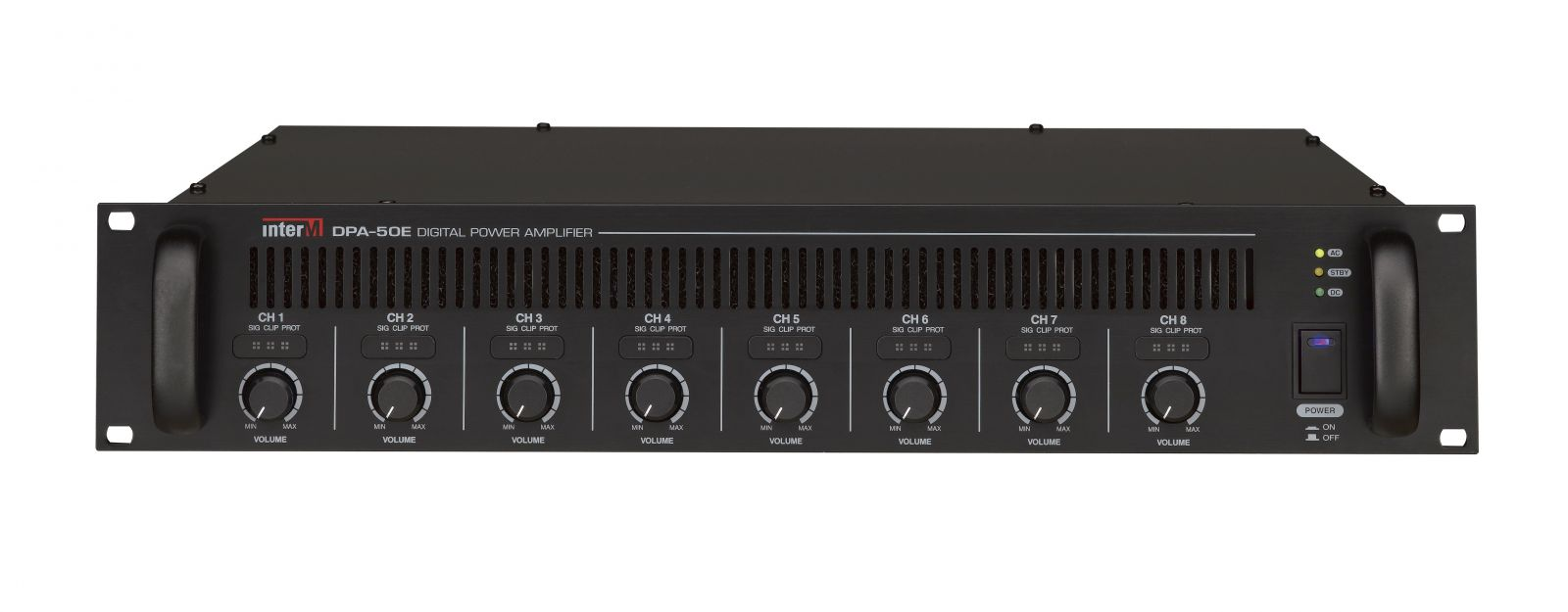 Amply 8 kênh  50Wx8CH Inter-M, DPA-50E