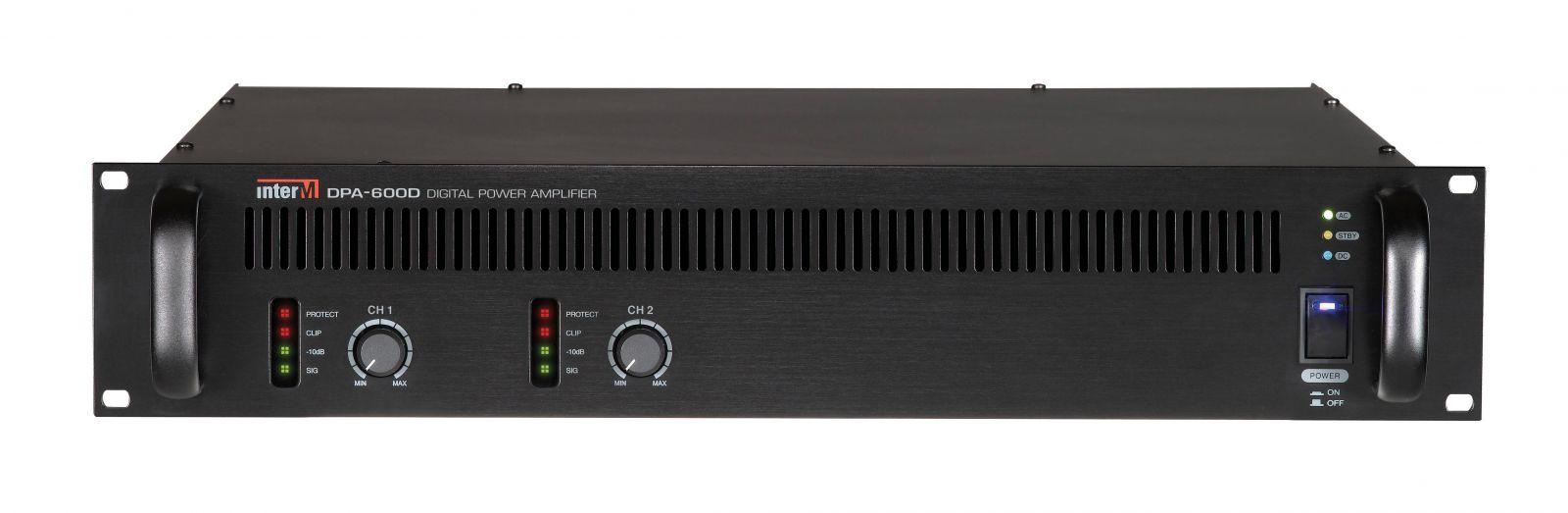 Amply 600Wx2CH Inter-M, DPA-600D