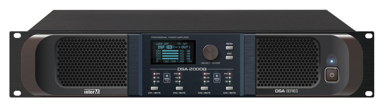 Amply kỹ thuật số 4 kênh - DSA-2000Q