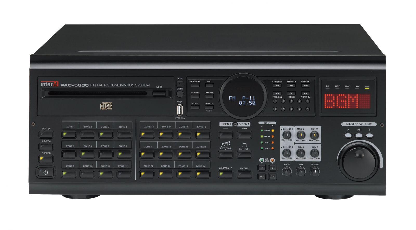 Âm thanh công cộng tích hợp - PAC-5000A