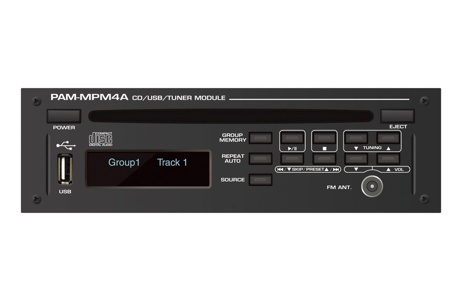 Module CD, USB, AM/FM dùng cho dòng AmplyPAM, PAM-MPM4