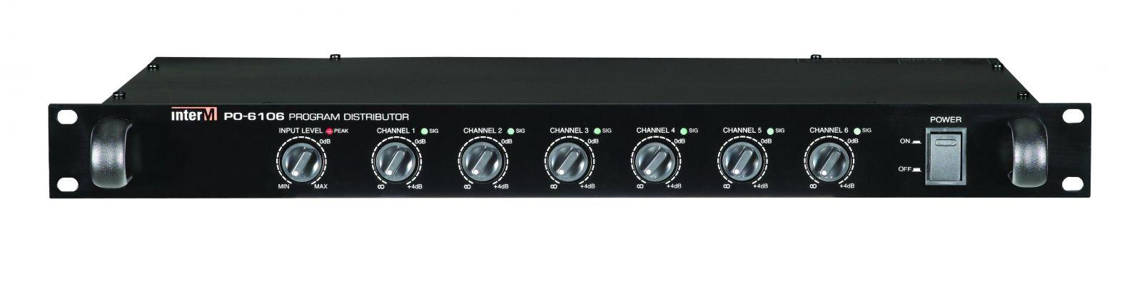 Chia tín hiệu ngõ ra - PO-6106