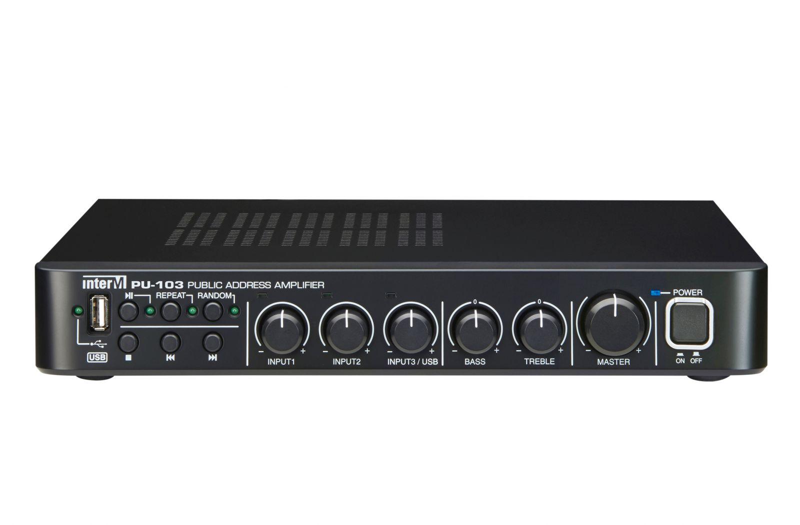 Amply 30W có trình phát USB - PU-103