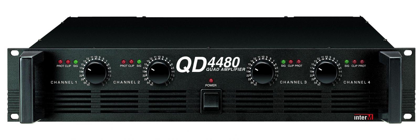 Amply 4 kênh - QD-4480