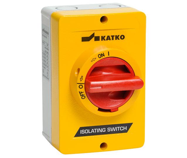 KEA 16A - 250A Isolator hộp nhôm