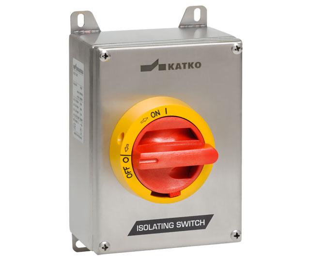 KER 16-1600A Isolator hộp thép không rỉ dòng