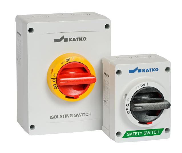 Isolator hộp nhựa ABS - KEM ABS - 10 - 80A