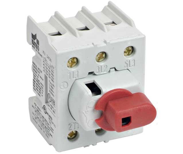 Isolator 4P 40A - không hộp KU440N