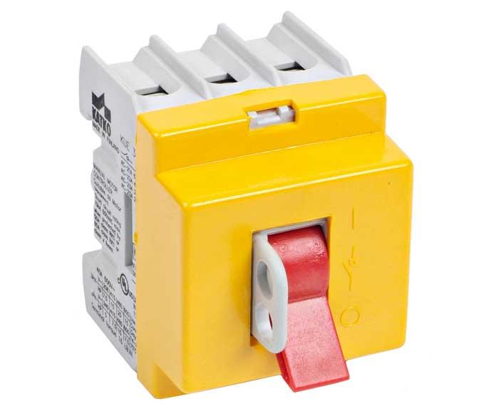 KUE 16-125A Isolator, cầu dao chuyển mạch dạng công tắc