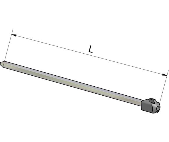 Thanh trục cho Isolator không hộp LK10, LK11
