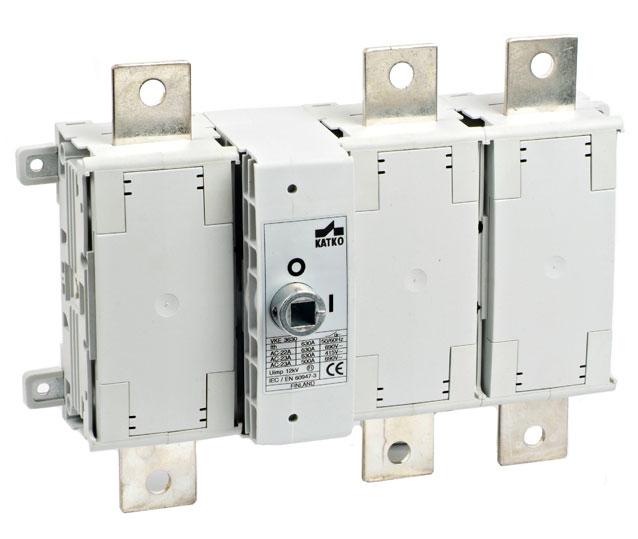 VKE 125-630A Công tắc nguồn dạng module