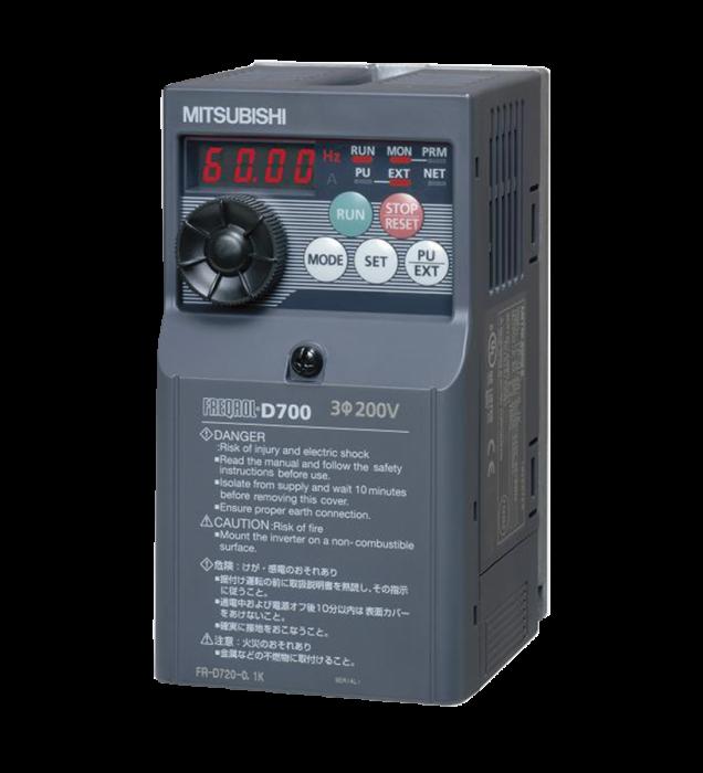 Biến tần công suất 2,2kW (FR-D740-2.2K)
