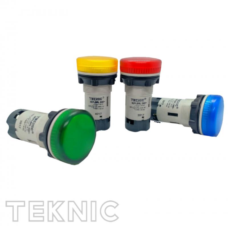 Đèn báo pha 220V - lens nhỏ