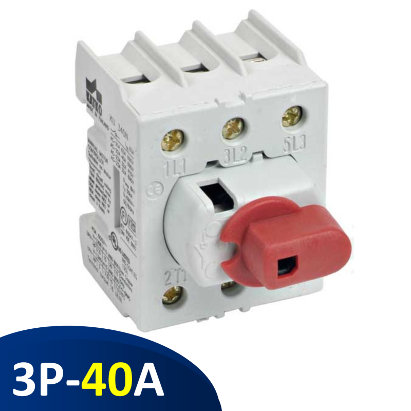 Isolator 3P 40A - không hộp KU340N