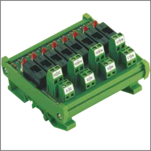 Module giao tiếp có cầu chì cơ bản và module giao tiếp có báo trạng thái lỗi