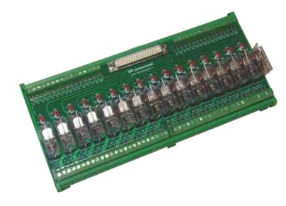 Modules giao tiếp 16 kênh 1 CO, 2 CO với ngõ vào DSUB (Jack cắm)