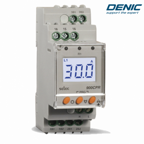 Relay bảo vệ dòng điện - 900CPR-1-230V (1 Pha )