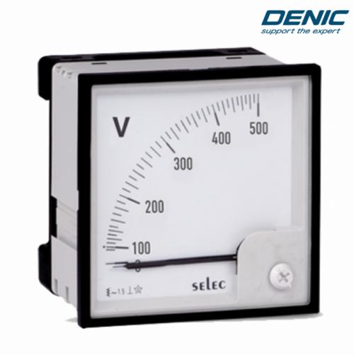 Đồng hồ kim đo điện áp volt AM-V-3