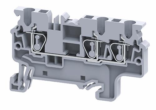 Cầu đấu dây điện dạng kẹp đa kết nối CX2.5/3