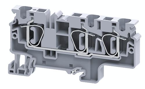 Cầu đấu dây điện dạng kẹp đa kết nối CX6/3
