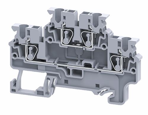 Cầu đấu dây điện dạng kẹp 2 tầng CXDL2.5