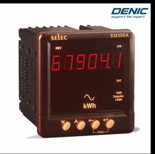 Đồng hồ đo điện đa năng, giám sát năng lượng EM306-A (96x96)
