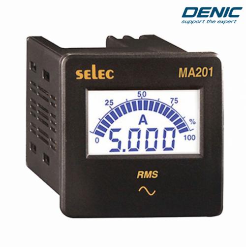 Đồng hồ đo dòng điện 1 pha Ampe MA201