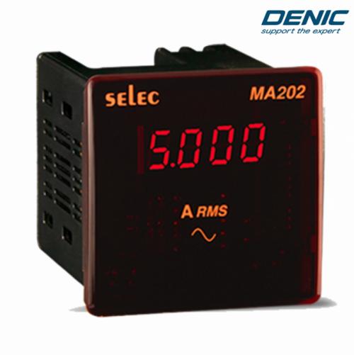 Đồng hồ đo dòng điện 1 pha ampe MA202