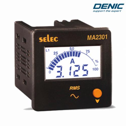 Đồng hồ đo dòng điện 3 pha LCD Ampe MA2301 (72x72)