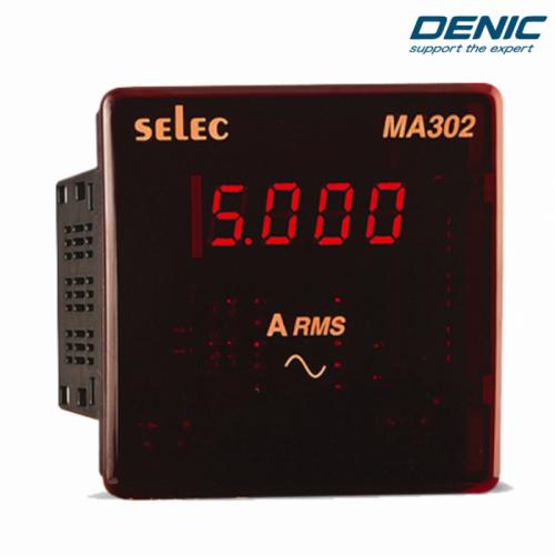 Đồng hồ đo dòng điện 3 pha và 1 pha Ampe MA302