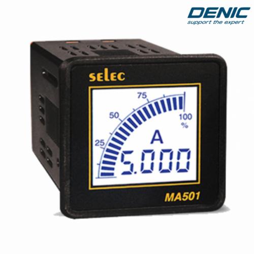 Đồng hồ đo dòng điện 1 pha LCD MA501