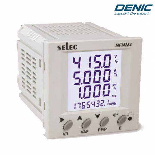 Đồng hồ đo điện đa năng, giám sát năng lượng MFM284-C-CE (72x72)