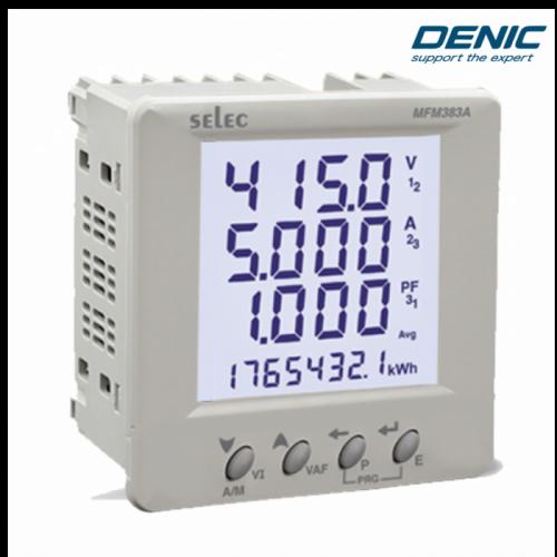 Đồng hồ giám sát năng lượng - Đo đa năng -MFM383A (96x96)