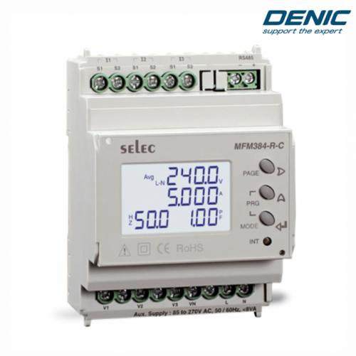 Đồng hồ giám sát năng lượng - Đo đa năng - MFM384-R-C (70x90)