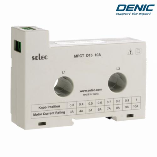 Biến dòng cho relay bảo vệ động cơ MPCT D15 80A