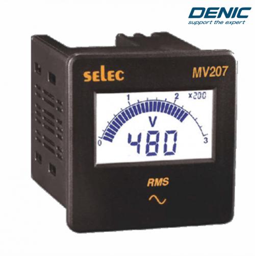 Đồng hồ đo điện áp volt MV207